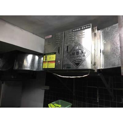 汕尾市拾贰咖啡酒馆厨房废气工程